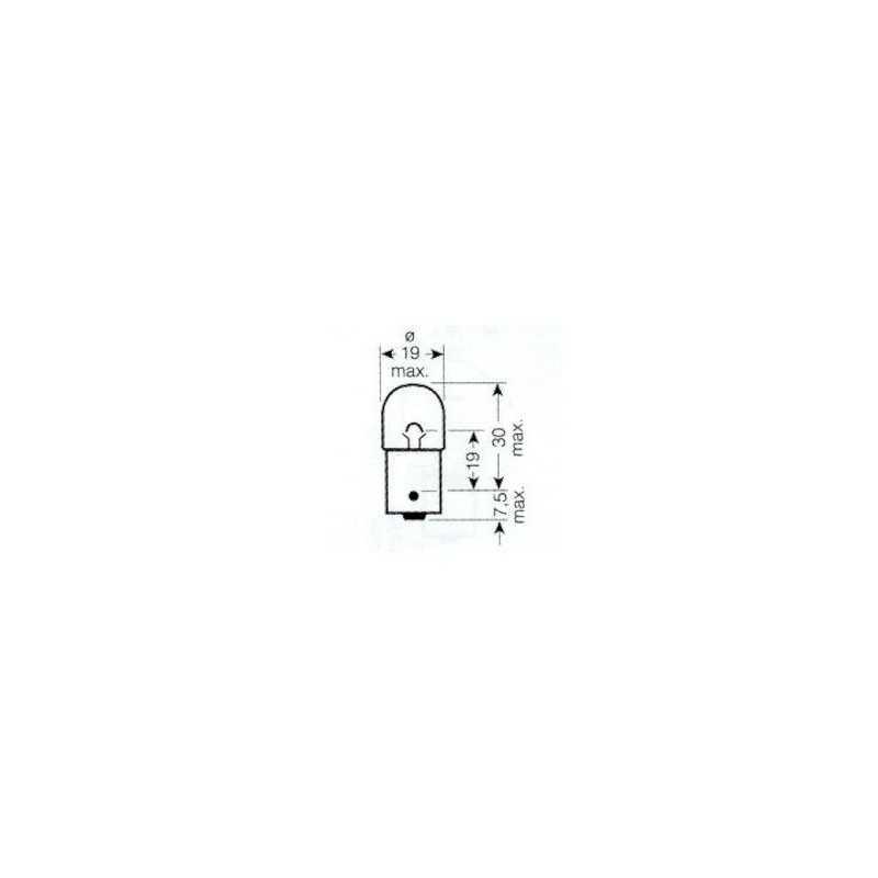 Ampoule 24V 5W Graisseur