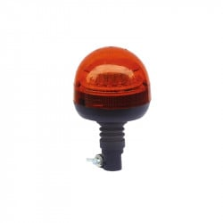 Gyrophare Orange LED sur Hampe