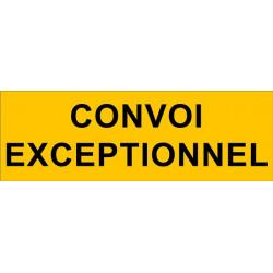 Panneau Convoi Exceptionnel