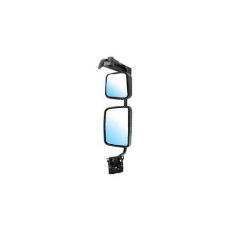 Double Rétroviseur électrique dégivrant avec bras court