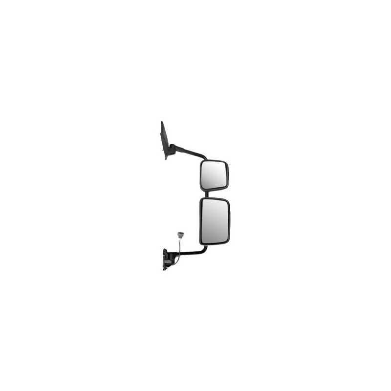 Double rétroviseur manuel dégivrant à bras long droit