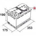 Batterie 95AH 760(EN)