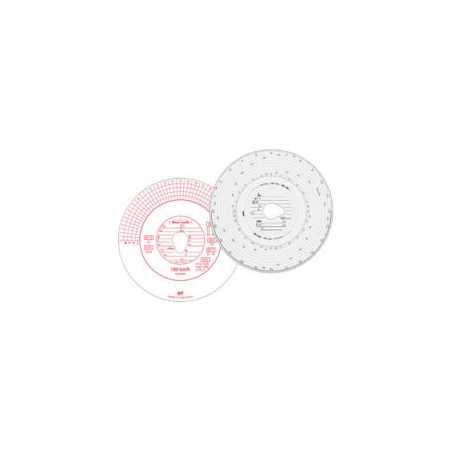 Kit de disques de tachygraphe, 1 journée, 125km/h automatique