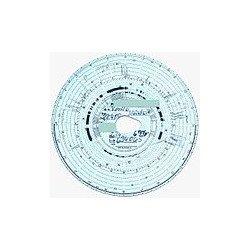 Kit de disques de tachygraphe 7 jours