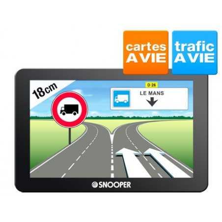 """GPS Ecran 7"""" Snooper PL6200"""