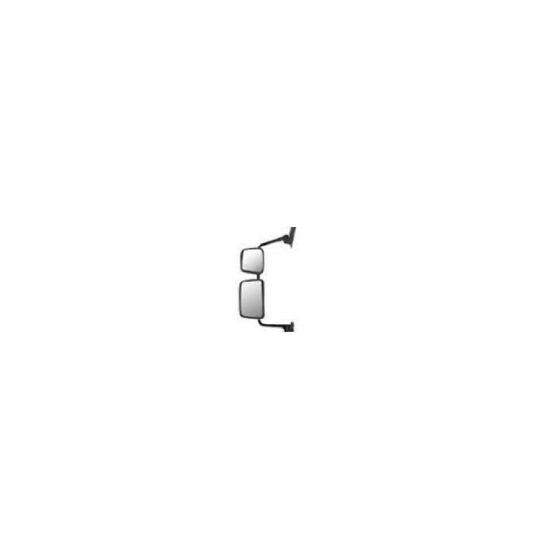 Double rétroviseur manuel dégivrant à bras long gauche
