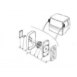 Glace rétroviseur pour Renault Série G / M / R