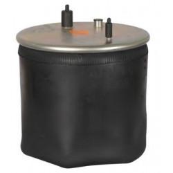 Coussin air avec piston acier