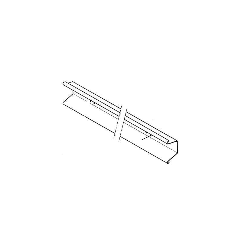 Barre antiencastrement AR LG2300 pour Renault Premium