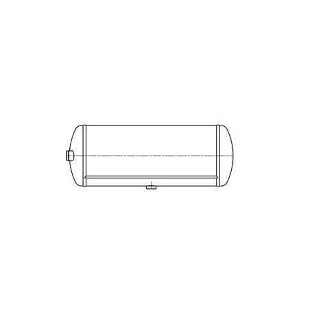 Kit fixation réservoir air DIAM 300MM