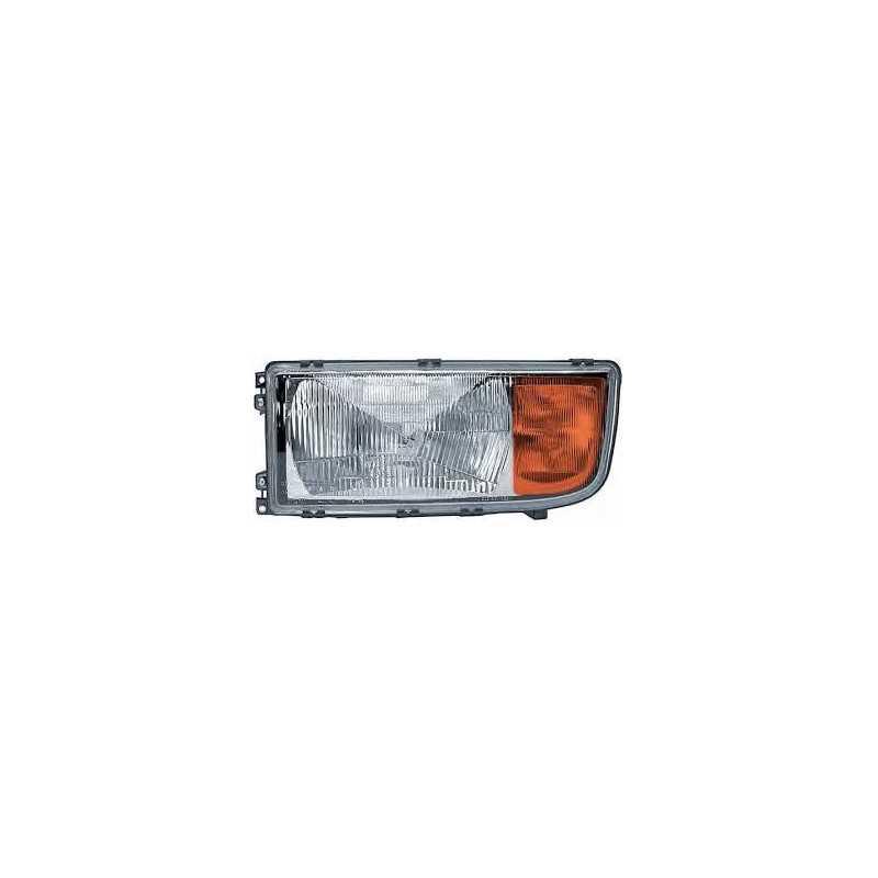 Optique de phare gauche avec clignotant pour Mercedes Benz Actros MP1