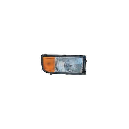 Optique de phare droit avec clignotant pour Mercedes Benz Actros MP1