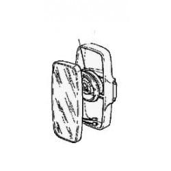 Rétroviseur principal, gauche, chauffant, électrique pour Renault Truck Magnum AE