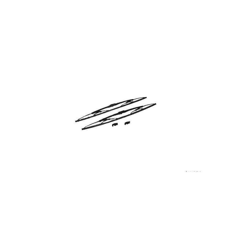Kit de 2 balais d'essuis glace pour Mercedes Benz Actros/Antos/Arocs/Axor