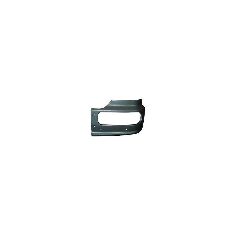 Pare-chocs, gauche, noir pour Mercedes Benz Atego/Econic