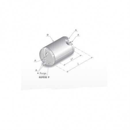 Reservoir d'air 25L pour Volvo FS7