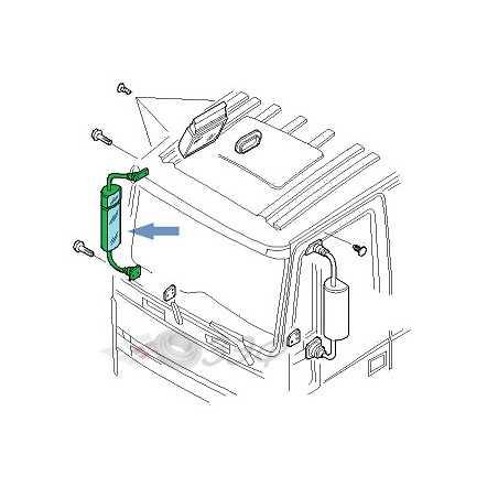 Rétroviseur pour Iveco 260S31
