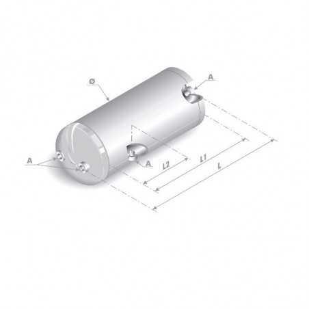 Réservoir d'air 30 Litres pour Iveco Stralis