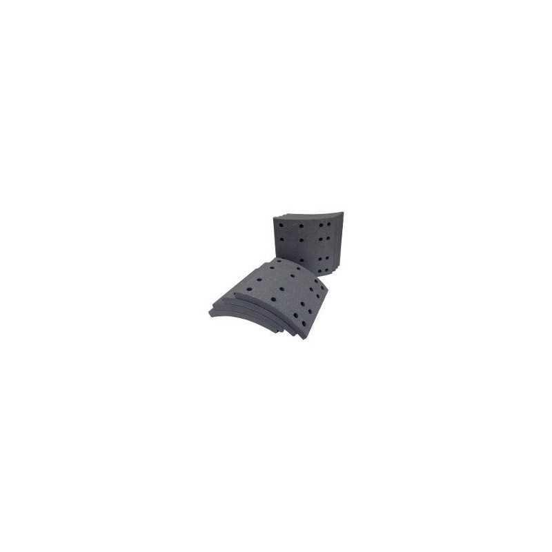 Kit de garnitures de frein + rivet 10 pouces pour Scania PRG230-32