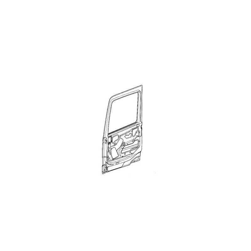 Porte nue pour Mercedes Benz Actros