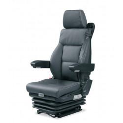 siège pneumatique, commande à gauche, ceinture 3 pts, lombaires pneumatique, tissu, entraxe 216mm, chauffant et noir