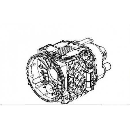 Boite de vitesse automatique sans ralentisseur hydraulique pour Renault Trucks Premium