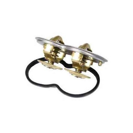 Thermostat double 75 / 80 °c pour Scania Serie 3