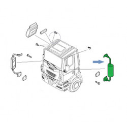 Rétroviseur gauche pour Iveco
