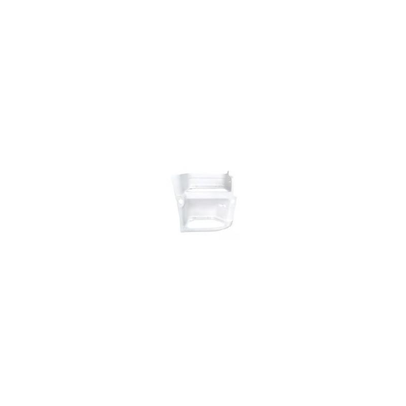 Caisson d'emmarchement, droit, blanc pour Renault Premium