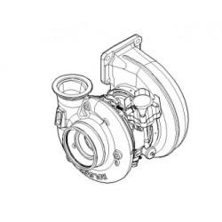 Turbo Echange Réparation sans joints pour Iveco Trakker