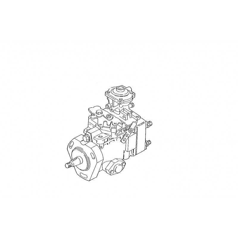 Pompe d'injection pour Iveco Eurocargo