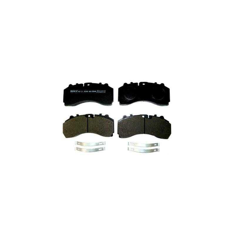 Kit de garnitures de disque de frein avant
