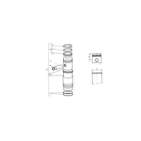 Cylindrée pour Renault Trucks M150