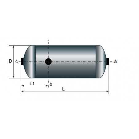 Réservoir à air 30L pour Volvo FH/FM/FMX/NH 9/10/11/12/13/16