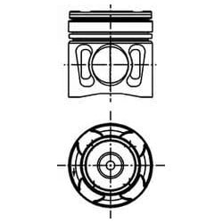 Piston moteur pour Man TGA/TGL/TGM/TGS/TGX