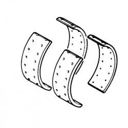 Kit de garnitures de frein avant pour Renault Trucks S110