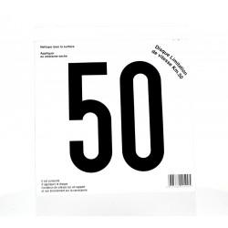 Disque limitation 50Km/h Adhésif