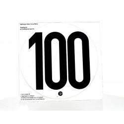 Disque limitation PVC 100KM/H