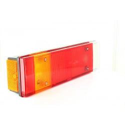Feu arrière 7 fonctions avec catadioptre et connecteur latéral, gauche et droit