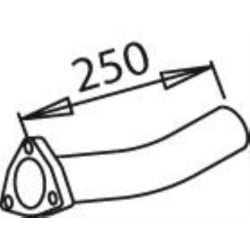 Tube après turbo pour Mercedes Benz 1419