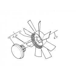 Ventillateur pour Renault Trucks Kérax
