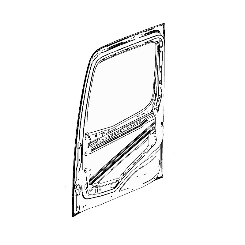 Porte nue pour Mercedes Benz Arocs