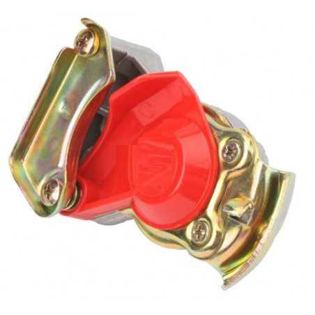 Main d'accouplement Couvercle rouge