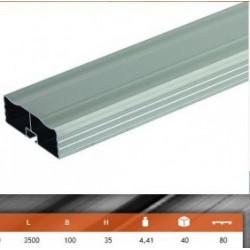 Barre anti encastrement en aluminium