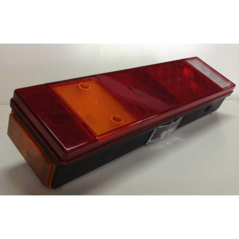 Feu arrière 7 fonctions avec catadioptre, éclaireur de plaque et feu de position latéral, gauche
