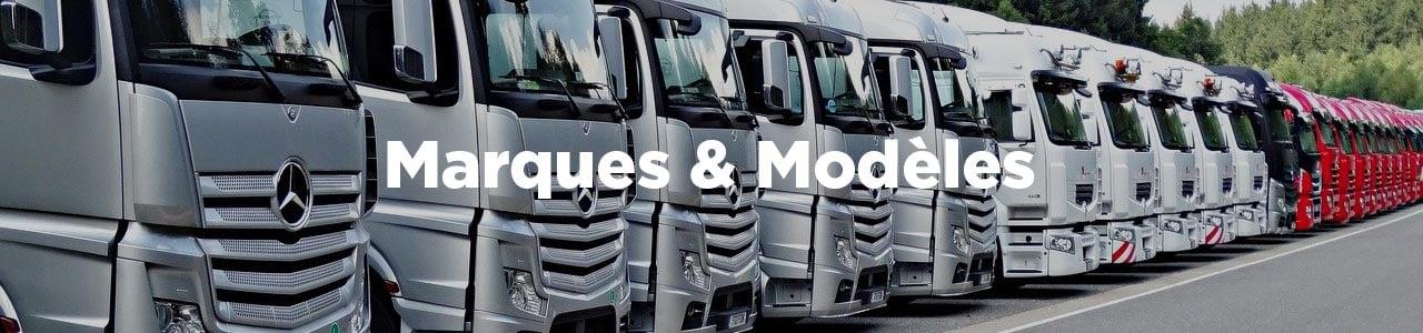 marque et modele de camion poids lourd
